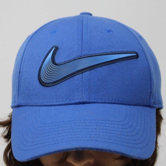 Nike Legacy 91 Men's Golf OSFA Blue Swoosh Hat Cap